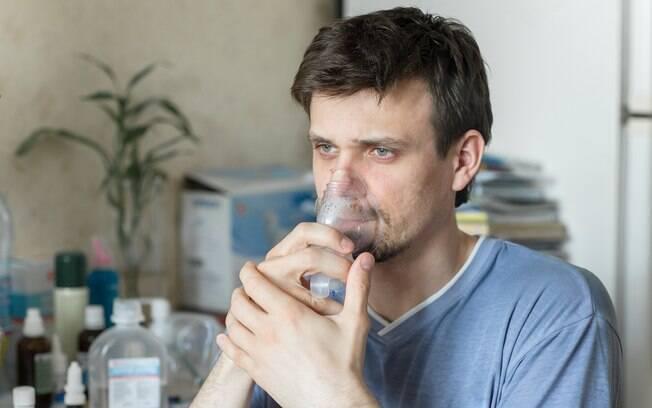 Pessoas com fibrose cística acabam tendo acúmulo de bactérias e germes nas vias respiratórias