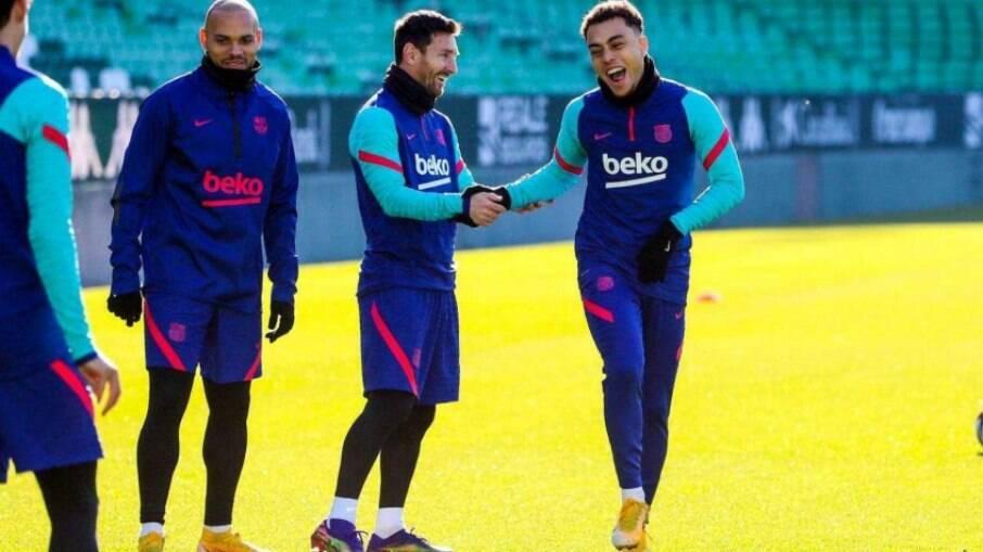 Defensor do Barça revela rotina de treino de Messi