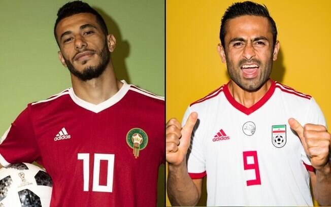 Marrocos e Irã se enfrentam em São Petersburgo em jogo dos 'patinhos feios' do Grupo B da Copa do Mundo