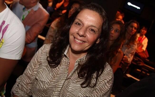 Rosi Campos no São Paulo Fashion Week