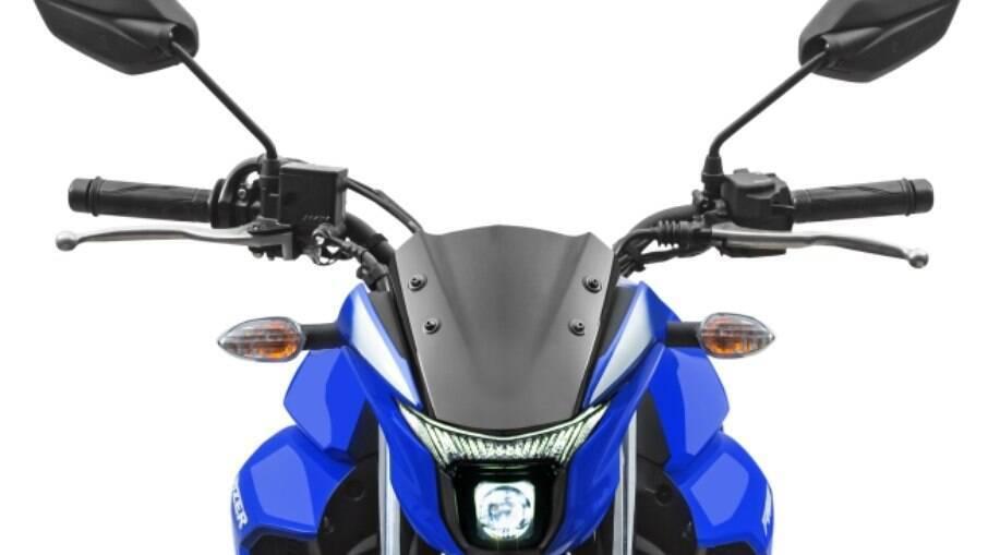 Yamaha Fazer 250 2022 vem com farol que funciona apenas com LED no lugar das lâmpadas convencionais