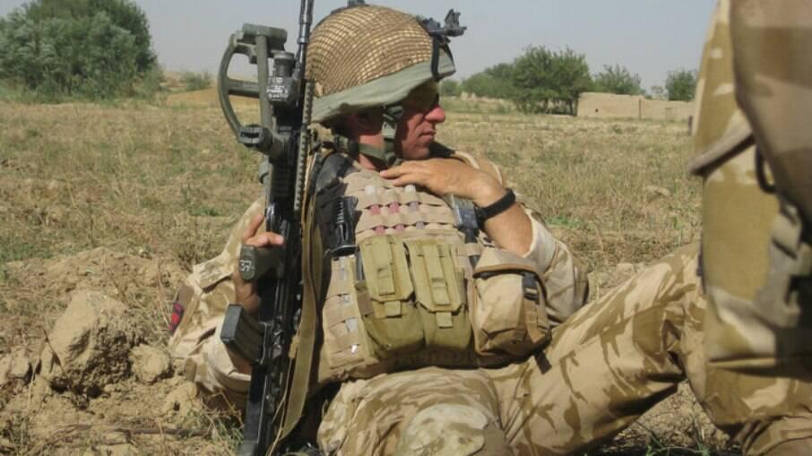 Jack Cummings, ex militar que lutou no Afeganistão