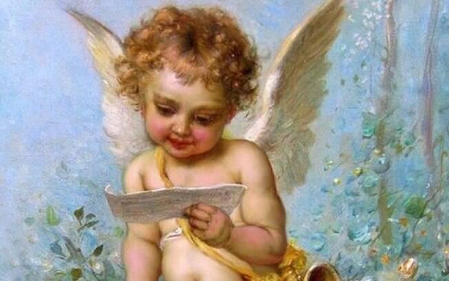 Eros, o cupido é retratado sempre como um garotinho inocente e que nunca cresce