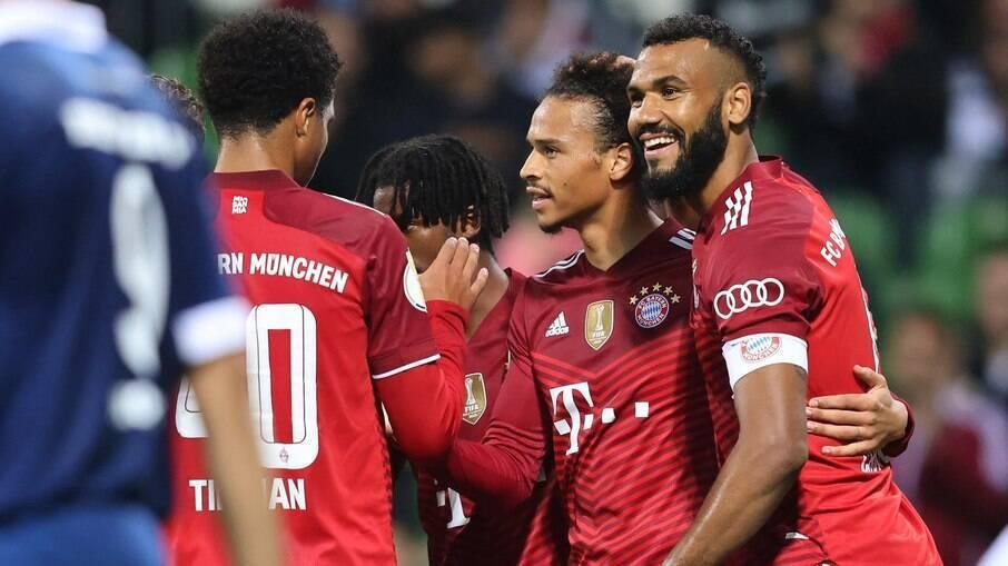 Bayern venceu o Bremer, da quinta divisão alemã