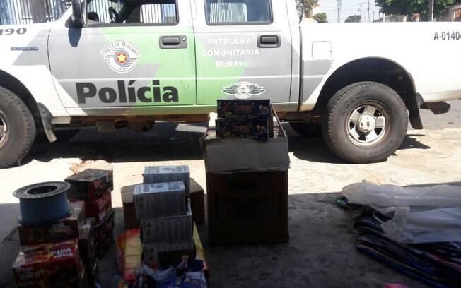 Polícia Militar Ambiental realizou grande apreensão de balões em uma fábrica clandestina em Campinas