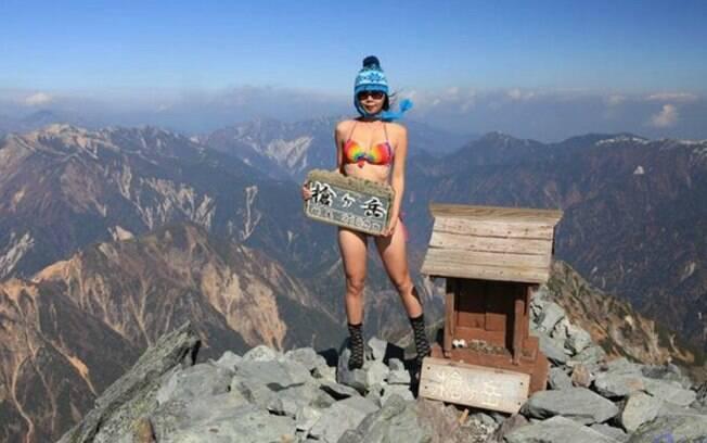 Gigi Wu, alpinista taiuanesa, morreu de hipotermia após cair de um barranco no Parque Nacional Yushan