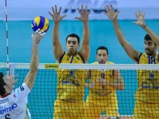 Trentino vai vencendo o UPCN na disputa pelo terceiro lugar