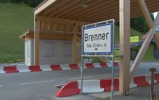 Fronteira com a Itália em Brennero, na Áustria, será fechada