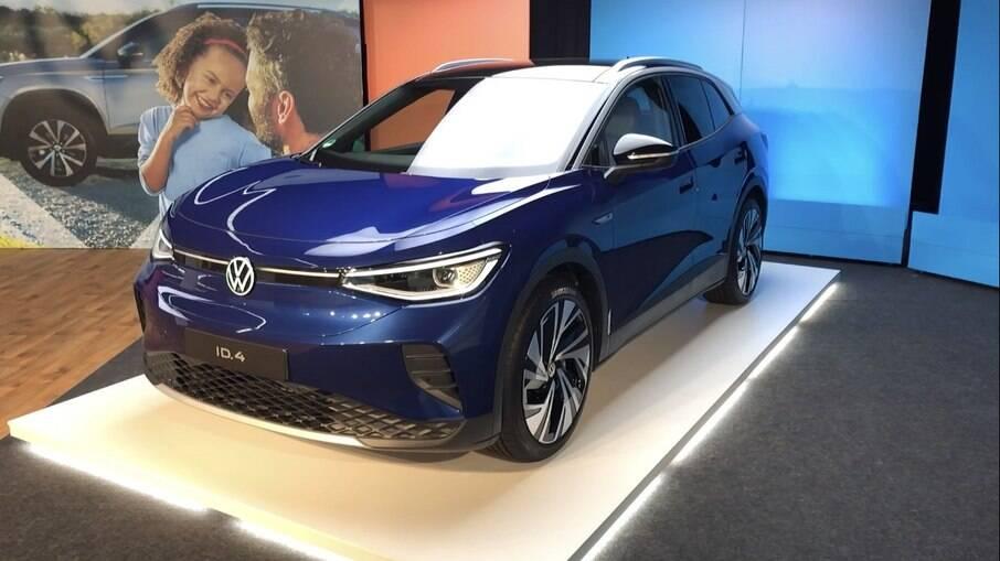 VW ID.4, o SUV elétrico que pode disputar em uma categoria cheia de produtos premium