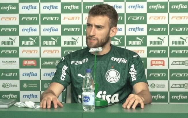 Alan Empereur testa positivo e torna-se o oitavo jogador do Palmeiras com Covid em uma semana