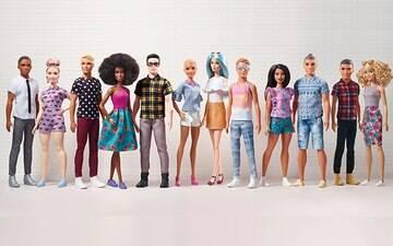 Linha Barbie Fashionistas é expandida com inclusão de dos dois novos  Ken