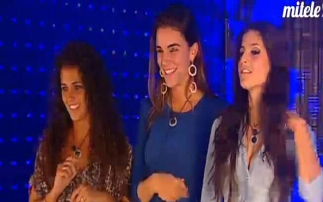 Laisa aguarda entrada no Gran Hermano com mais duas participantes do reality show espanhol