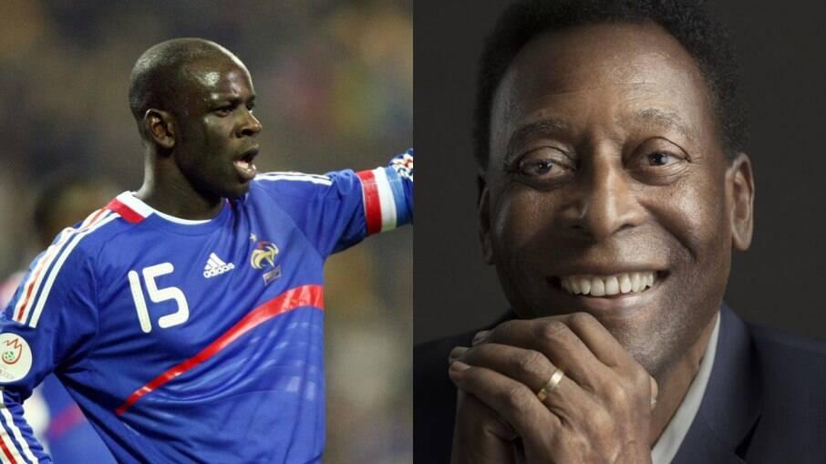 Thuram e Pelé