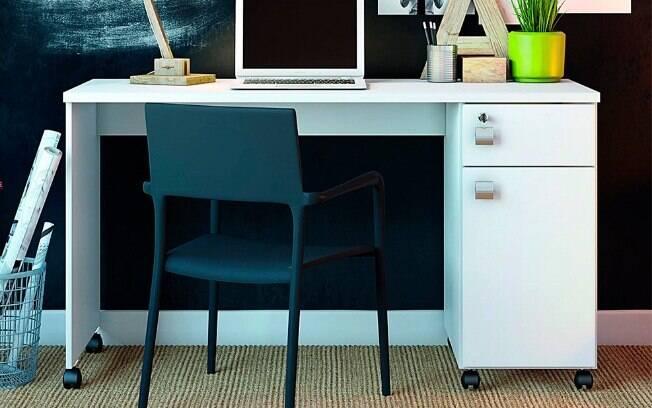 A facilidade dos móveis que possuem rodinha é que eles podem ser levados de um lado ao outro de forma simples e fácil