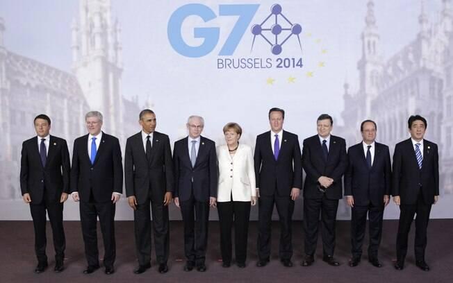 G7 ameaça aumentar sanções contra Rússia por crise na Ucrânia