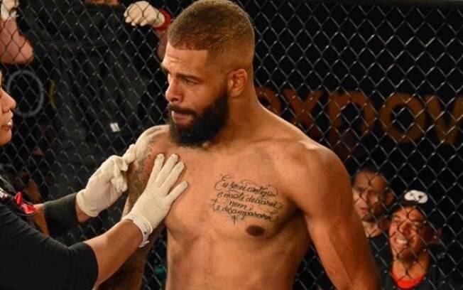Guilherme Senegal, atleta de MMA