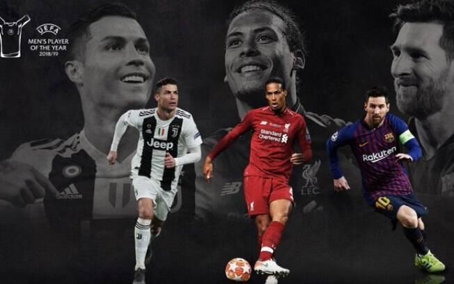 Indicados ao prêmio de melhor jogador do mundo da Uefa