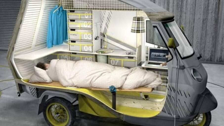 Piaggio Buffalo è ancora un prototipo, ma presto sarà prodotto in serie come mini camper