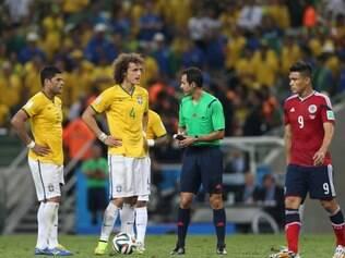 COPA DO MUNDO: Fortaleza-CE - BRASIL X COLOMBIA  Partida contra Colombia, pelas quartas de final da Copa do Mundo, na Arena Castelao.   FOTO: ALEX DE JESUS/ O TEMPO -  04.07.2014