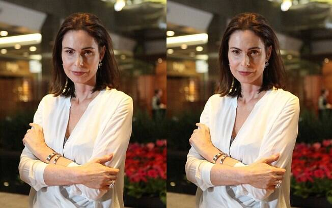 A atriz Silvia Pfeifer