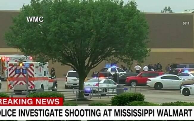 Atirador deixou pelo menos duas pessoas mortas em ataque ao Walmart, no Mississipi
