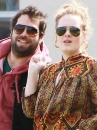 Simon Konecki e Adele