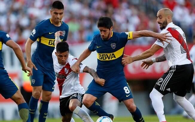 Final da Libertadores 2018 entre Boca Juniors e River Plate agita mundo do futebol