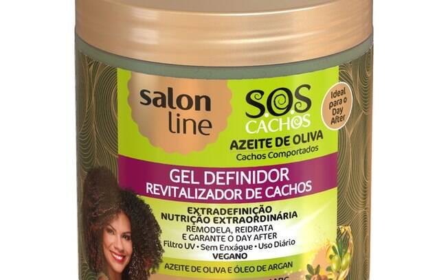 Gel definidor azeite de oliva SOS Cachos - 550 g (R$ 17,30)