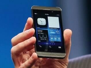 BlackBerry Z10 tem tela de 4,2 polegadas