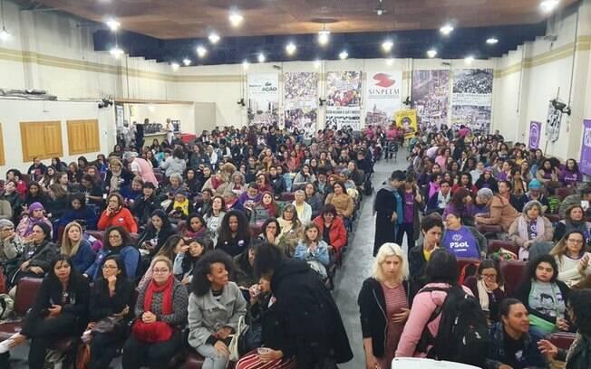 Evento de mulheres do PSOL aconteceu neste sábado (3), em São Paulo