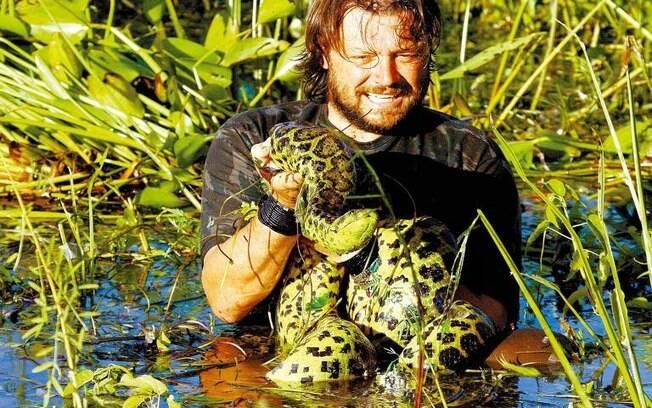 Richard Rasmussen apresentou programas sobre a vida selvagem na Record, SBT, Band e canais fechados