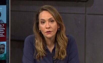 Maria Beltrão comete gafe ao errar conta ao vivo; assista