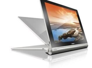 Novo Yoga Tablet mantém design da versão anterior