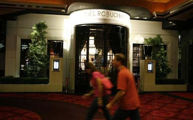 Joël Robuchon é o único restaurante com três estrelas Michelin de Las Vegas