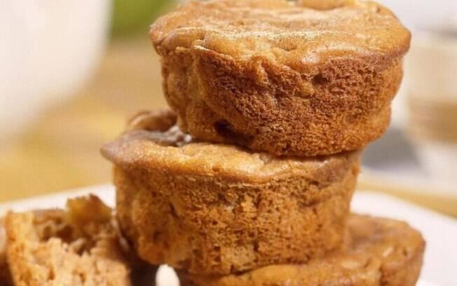 Muffin de maçã: opção ideal para o lanche