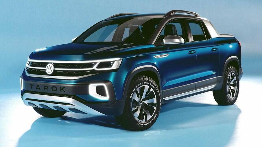 Mostrado em 2018, conceito VW Tarok antecipava visual da nova geração da Amarok