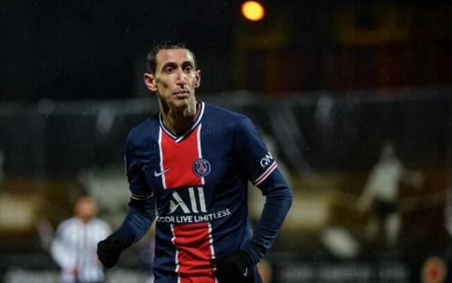 Família de Di María é sequestrada durante partida do Paris Saint-Germain