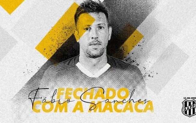 Ponte anuncia zagueiro do Goiás como novo reforço