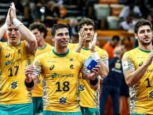 Borges (número 18) foi escolhido o melhor em quadra pela organização e ganhou um relógio de um dos patrocinadores do torneio