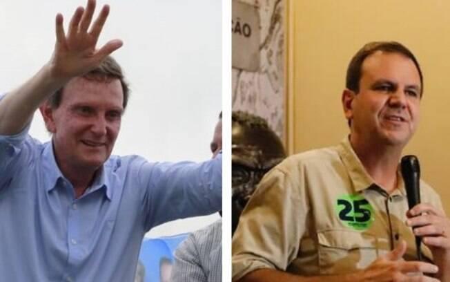 Marcelo Crivella (Republicanos) e Eduardo Paes (DEM) disputam o 2º turno no Rio de Janeiro