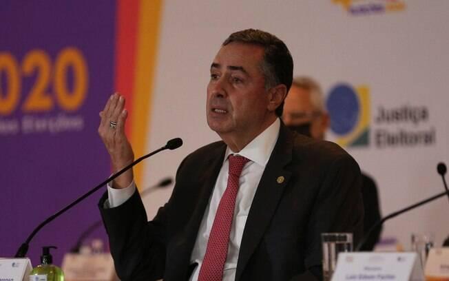 Presidente do TSE, Luiz Roberto Barroso