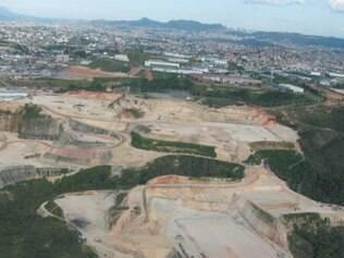 Área de 400 mil m² às margens da 381 foi devastada
