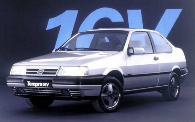 Fiat Tempra inaugurou os motores de 16 válvulas entre os carros pioneiros dos anos 90
