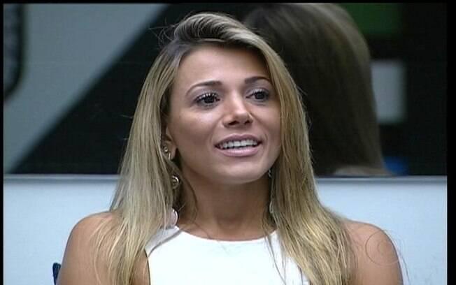 Fabiana fala de Kelly para Pedro Bial