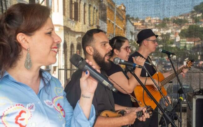 É o maior evento Português da Baixada Santista