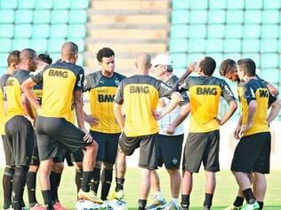 Em casa. Após empate sem gols, jogadores do Atlético contam com o apoio da torcida para vencer o Fluminense, hoje, em Ipatinga
