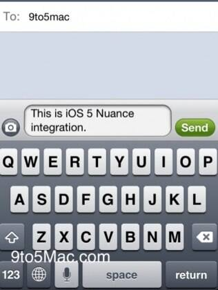 iOS 5 ganha ícone de microfone no teclado