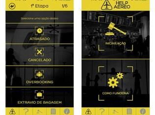 Disponível para iOS, Help Aéreo facilita que passageiros de companhias aéreas deem início a uma ação de indenização por maus serviços prestados