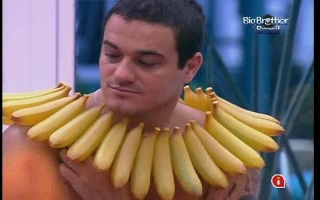 Rafa não pode comer outra coisa que não seja banana