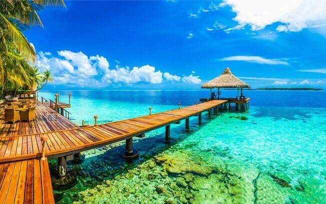 Malé, a capital das Ilhas Maldivas, acaba sendo um destino um pouco mais caro que os outros